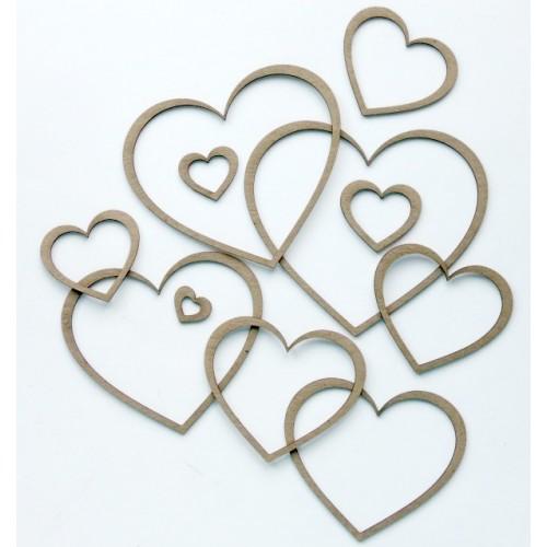Hearts - Shapes