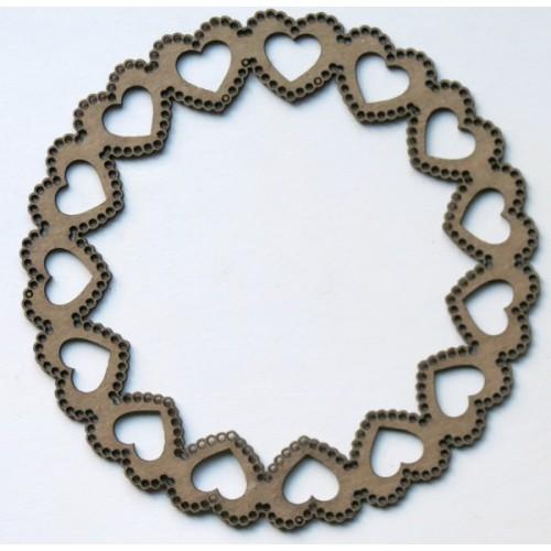 Heart Scalloped Frame - Frames