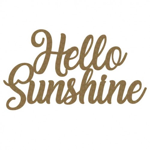 Hello Sunshine - Words