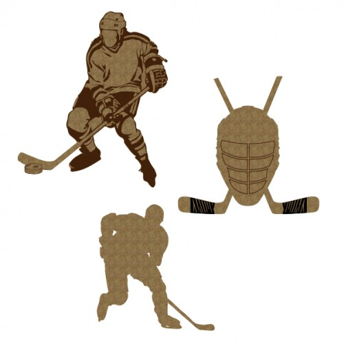 Hockey Player Set - Sports