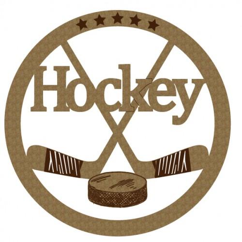 Hockey Emblem - Sports