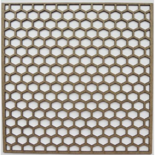 "Hot Hexagon Panel - 6"" x 6"" Lattice Panels"