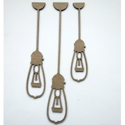 Industrial Hanging Light Bulbs