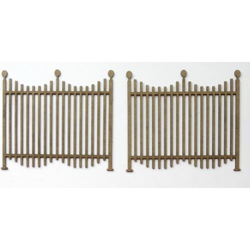Iron Fence  Set - Fences and Gates