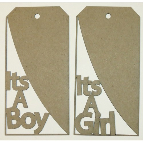It s a Boy/Girl Tags - Baby