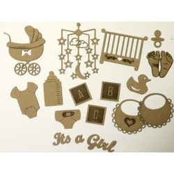 It's A Girl Set