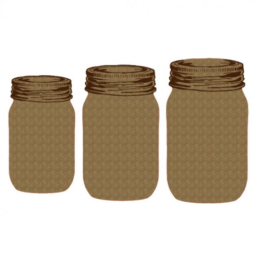 Jars - Chipboard