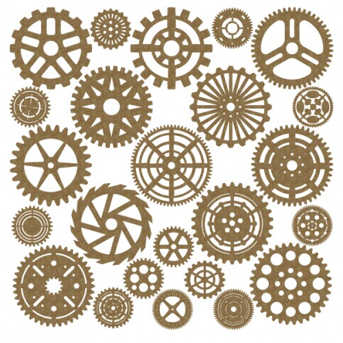 Large  Gear Set - Steampunk