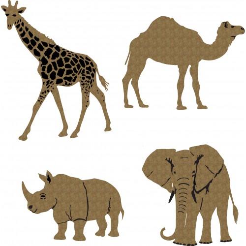 Large Zoo Animals - Animals