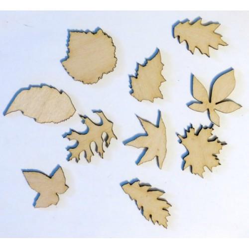 Leaves - Wood Veneers