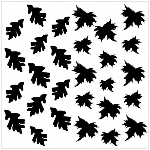 Leaves Stencil - Stencils