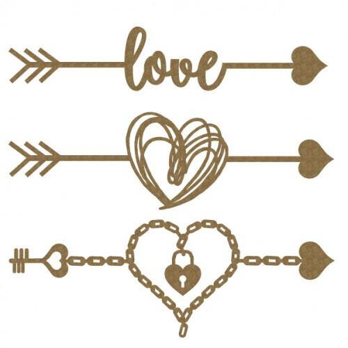 Love Arrow Set - Valentine s Day