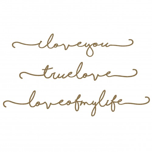 Love Border Words - Words