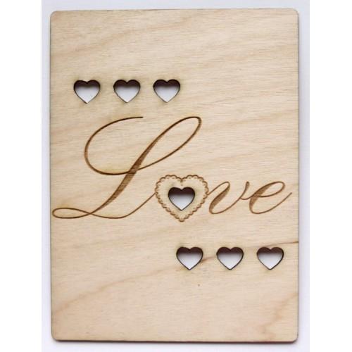 "Love - 3""x4"" Cards"