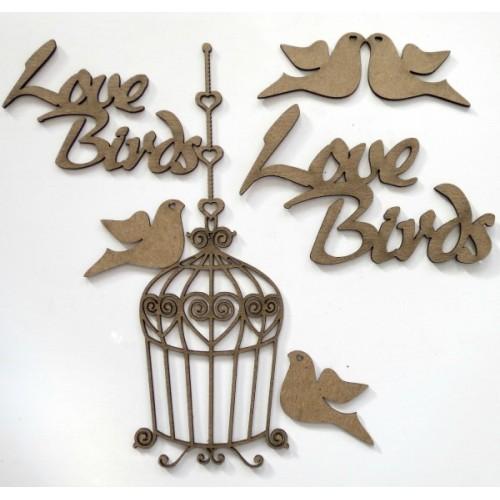 Love Birds Set - Birds