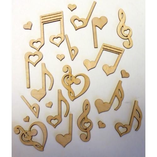 Love Notes - Wood Veneers