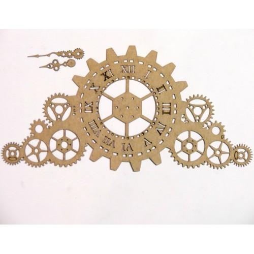 Mantle Steampunk Gear Timepiece - Steampunk