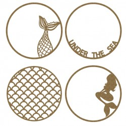 Mermaid Artist Trading Coins