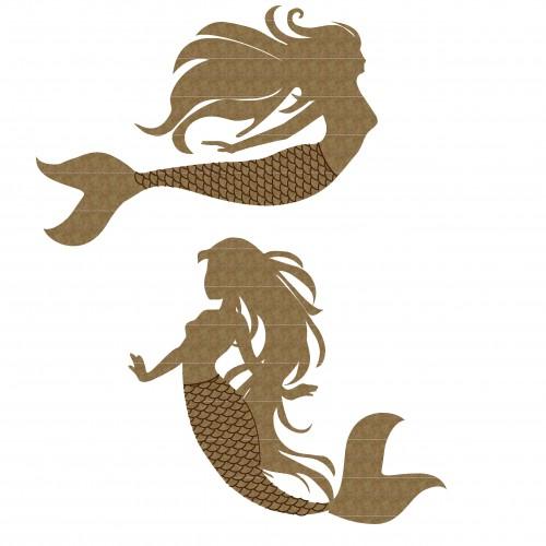 Mermaid Pair - Fantasy