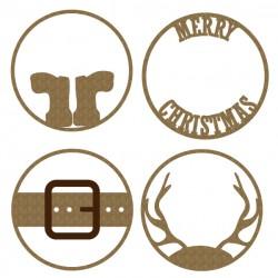Merry Christmas ATC coins