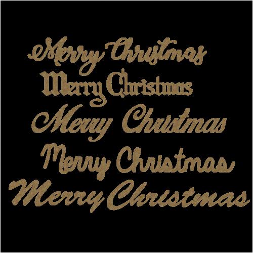 Merry Christmas Titles - Christmas