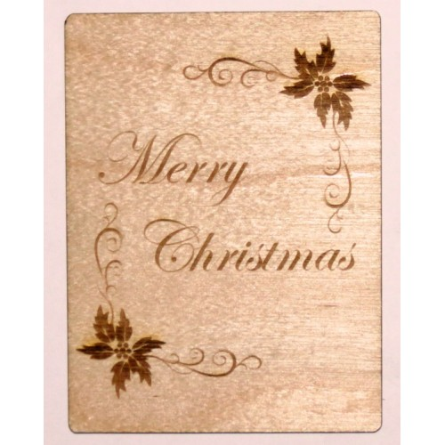 "Merry Christmas - 3""x4"" Cards"