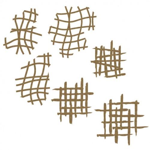 Mesh Pieces - Shapes