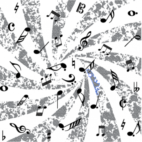 Mesmerizing Music Notes - Backgrounds