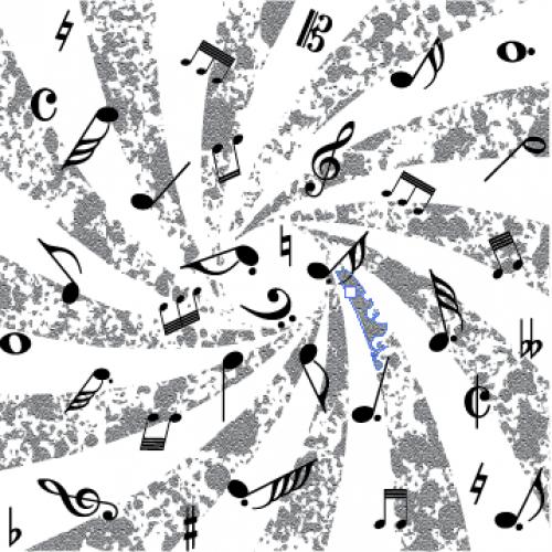 Mesmerizing Music Notes - Backgrounds