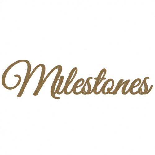 Milestones - Words