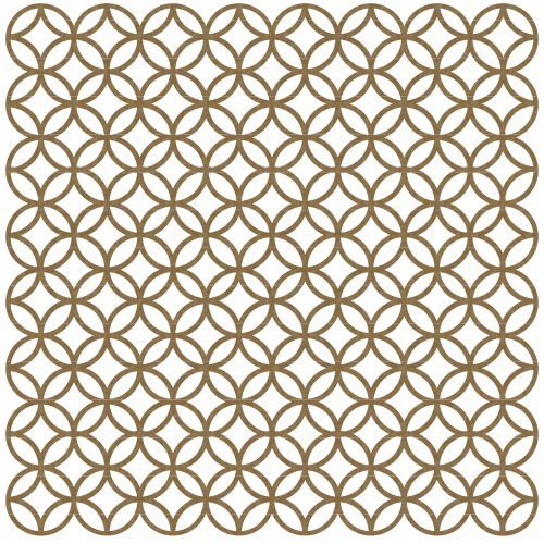 "Mini Circle Lattice - 6"" x 6"" Lattice Panels"