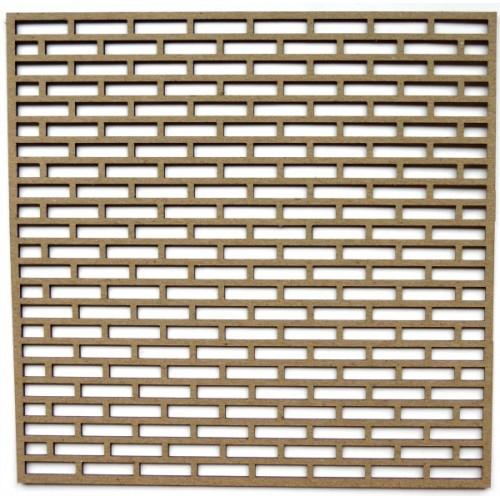"Mini Brick Panel - 6"" x 6"" Lattice Panels"
