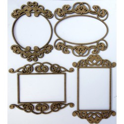 Mini Ornate Frames