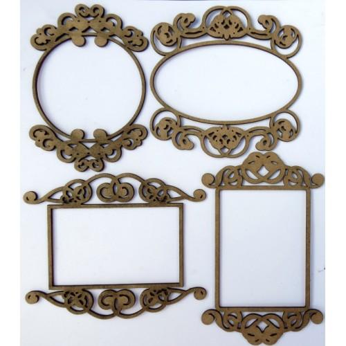 Mini Ornate Frames - Frames