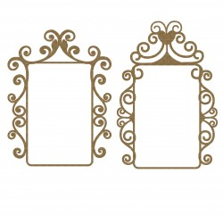 Mint Box Flourish Frames Set 1