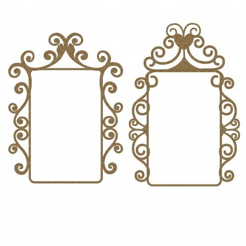 Mint Box Flourish Frames Set 1 - Frames