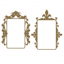 Mint Box Flourish Frame Set 2