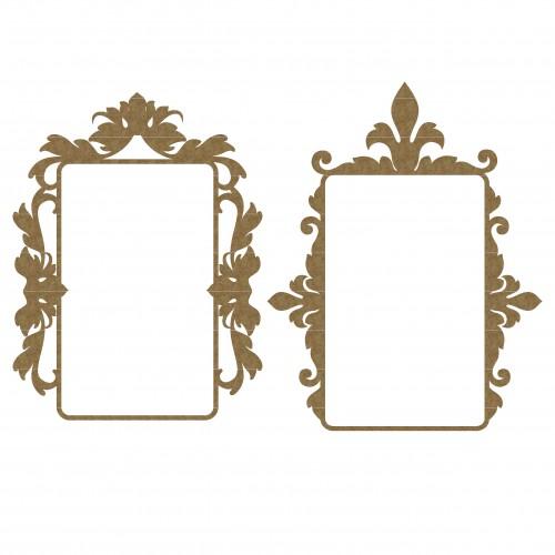 Mint Box Flourish Frame Set 2 - Frames
