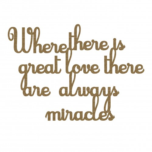 Miracles Quote - Words