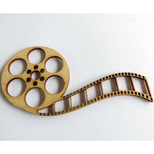 Movie Reel (Set of 3) - Wood Veneers