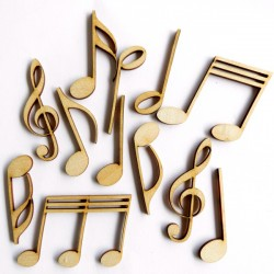Music Notes ( Set of 12)
