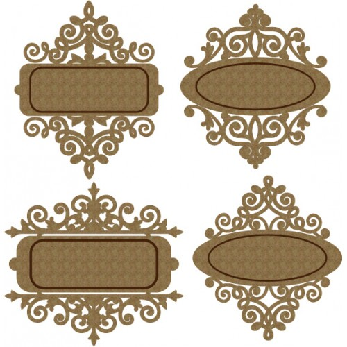 Name Plates - Chipboard