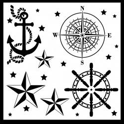 Nautical Stencil