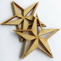 Nautical Star (set of 6)