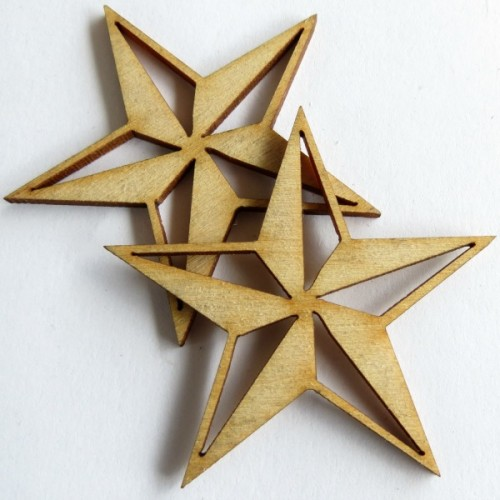 Nautical Star (set of 6) - Nautical