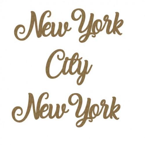 New York City, New York - Words