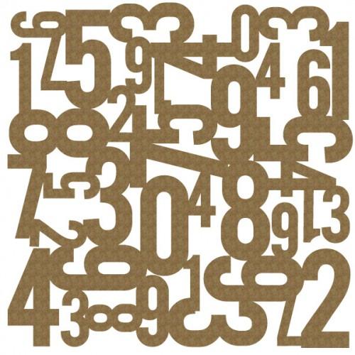 "Number Panel - 6"" x 6"" Lattice Panels"