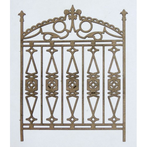 Ornate Gate 1 (Set of 2) - Fences and Gates