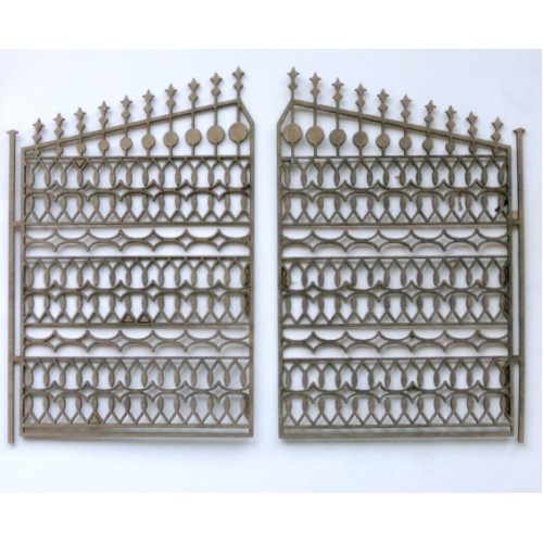 Ornate gate 3 - Fences and Gates