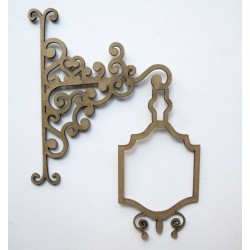 Ornate Hanging Sign